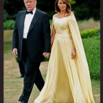 13 President of the United States Donald Trump, 72, and First Lady Melania Trump, 47, touched down at Stansted Airport yesterday to begin a three-day tour of the UK. Photo (C) REUTERS, GETTY IMAGES