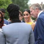 15 Meghan Markle is a vision in yellow at Commonwealth event with Prince Harry Photo C PA