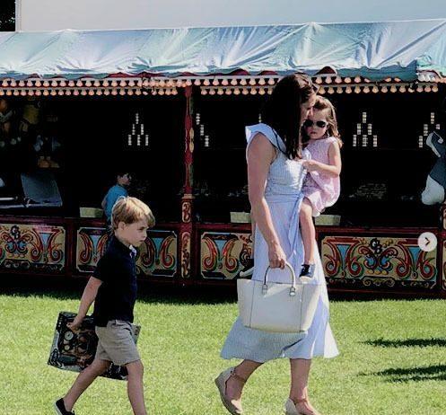 Prince George and Princess Charlotte Photo (C) GETTY