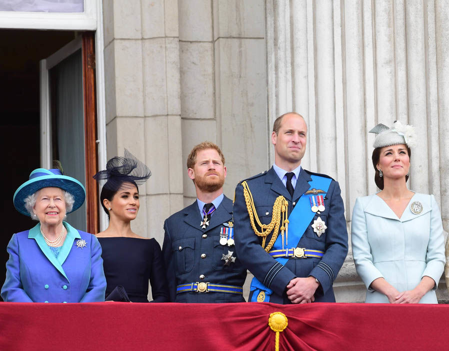 RAF 100 The royals celebrate Royal Air Force centenary Photo (C) PA, GETTY IMAGES, AFP