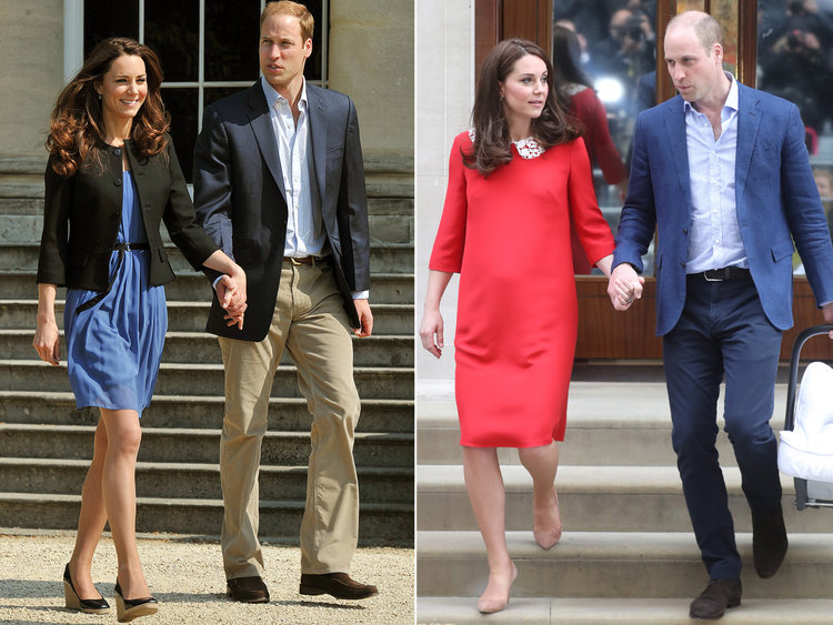 kate middleton prince william holding hands PDA