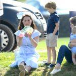 7 Prince George and Princess Charlotte Photo (C) GETTY