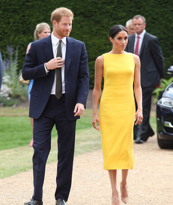 1 Meghan Markle is a vision in yellow at Commonwealth event with Prince Harry Photo C PA