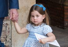 A royal fan said, 'Charlotte is her mini me' Photo (C) GETTY