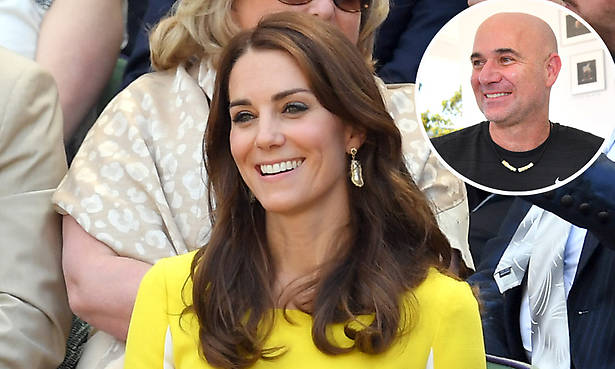 Andre Agassi just confirmed what we secretly already knew about Kate Middleton Photo (C) GETTY