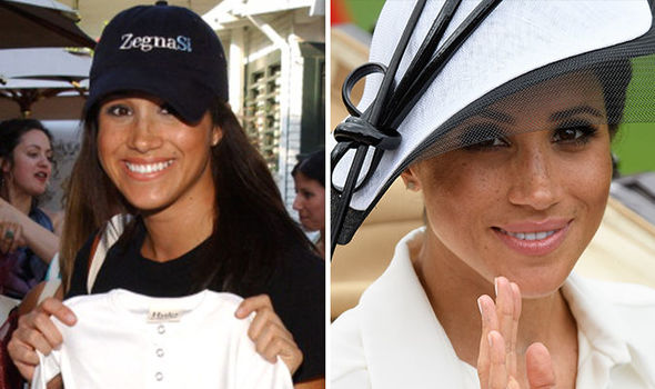 Bridal designer Caroline Castigliano said we are already seeing everything about Meghan change Photo (C) GETTY