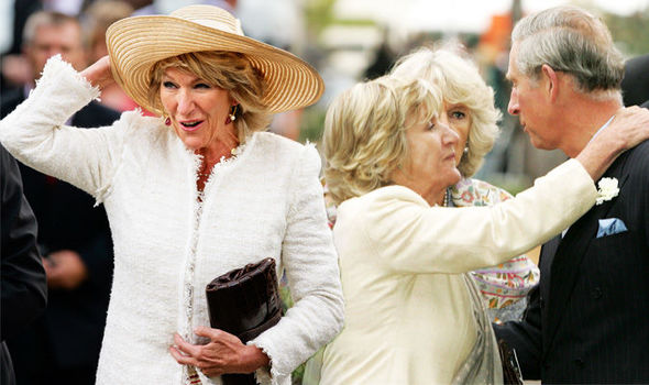 Camilla Parker Bowles Who is Prince Charles wife's sister Annabel Elliot Photo (C) GETTY IMAGES