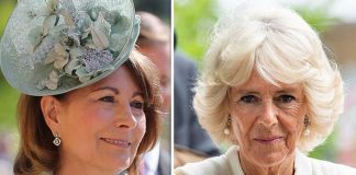 Camilla and Carole Middleton are set to attend Prince Louis' christening on Monday, 9 July Photo (C) GETTY