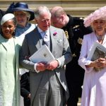 Camilla was a proud stepmother at Prince Harry's royal wedding (Image GETTY )