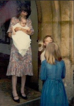 Catherine Duchess of Cambridge Kate Middleton Christening Photos (C) TWITTER TEA TIME WITH CAMBRIDGES