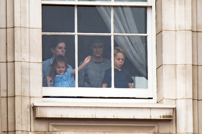 The royal children were looked after by their nanny Maria Photo (C) WENN