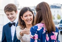 Countess Alexandra of Frederiksborg responds to reports she pushed Princess Marie of Denmark Photo (C) GETTY