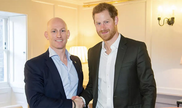 Dean Stott and Prince Harry trained together in the military, and are both mental health activists PhDean Stott and Prince Harry trained together in the military, and are both mental health activists Photo (C) PAoto (C) PA