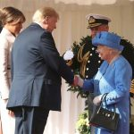 Donald Trump revealed he spoke with the Queen about Brexit Photo (C) GETTY