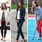 Duchess Catherine rocks a slim-fit trouser like no other! Photo (C) GETTY