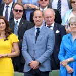 Duchess of Cambridge Kate Middleton was joined by Prince William at Wimbledon, and wore a brooch which had a very special meaning [Getty]