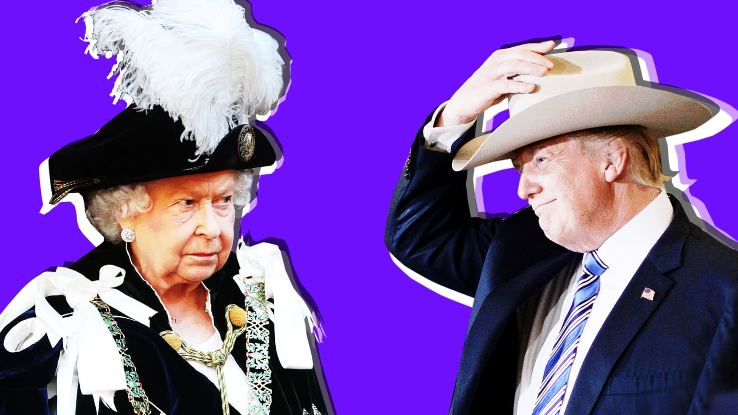 Fame, Fortune, Family Drama Trump and Queen Elizabeth Have More in Common Than You Think