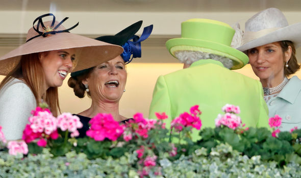"Fergie shared a picture on Instagram from Royal Ascot with the caption ""Great day with my family"" Photo (C) GETTY"