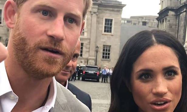 Find out which gift gave Prince Harry and Meghan Markle this shocked reaction Photo (C) GETTY