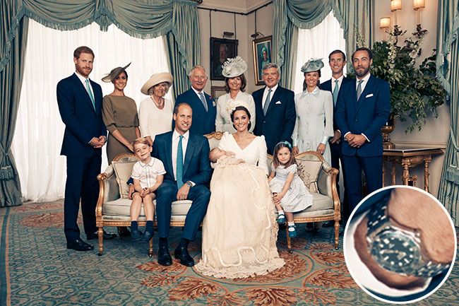 Prince Louis' christening photos were taken at lightning speed – here's how we know Photo (C) GETTY