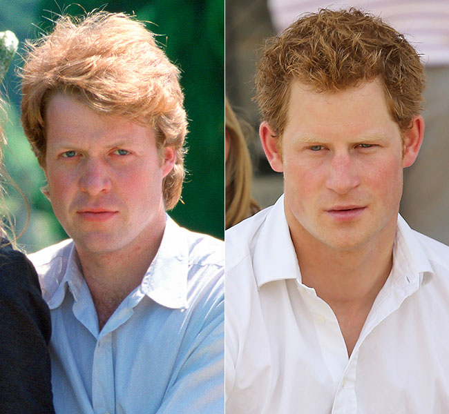 Harry has also been likened to his uncle Earl Spencer Photo (C) GETTY IMAGES