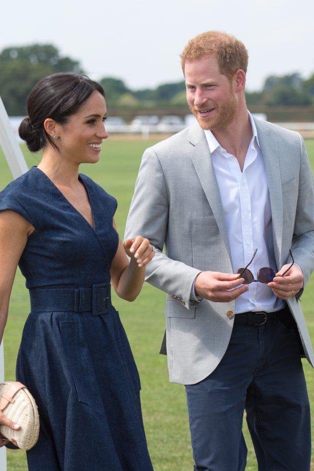 He fears he may never meet Meghan and Prince Harry's children [Splash News]