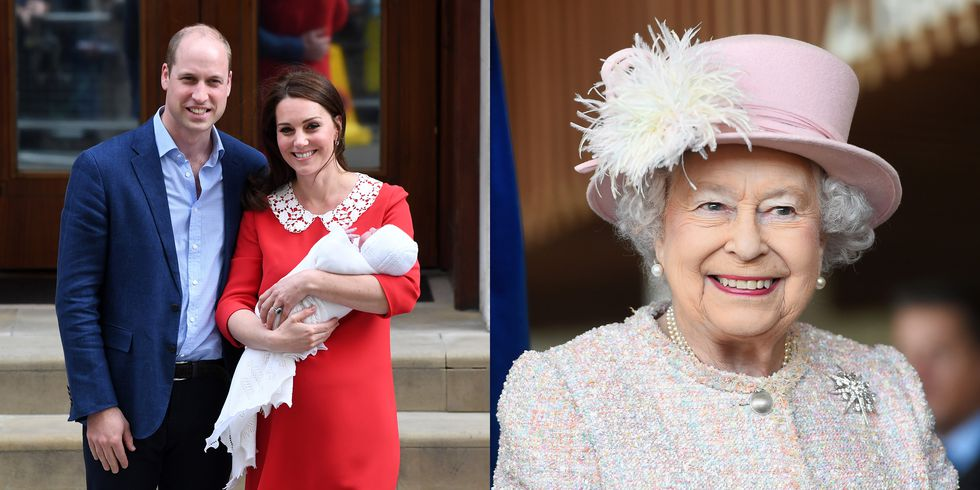 Here's When Prince Louis' Christening Will Happen and Why the Day Is So Special to Queen Elizabeth Photo (C) GETTY