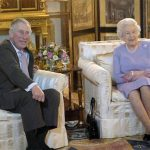 Hilarious video shows the Queen and Prince Charles watching England match at Buckingham Palace Photo (C) GETTY