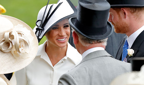 """It is believed Meghan """"made it clear"""" Harry should invest in his relationship with Charles (Image Getty)"""