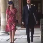 James Middleton arrives for the christening of Prince Louis Photo (C) EXPRESS