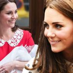 Kate Middleton She is said to have done the school run the day after Prince Louis' birth (Image Getty)