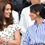 Kate Middleton and Meghan Markle attended together the women's final Photo (C) GETTY