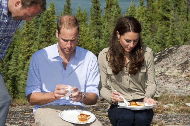 Kate Middleton and Prince William enjoy cooking together as a family [Getty]