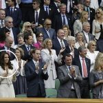 Kate Middleton met Andre Agassi at Wimbledon Photo C PA