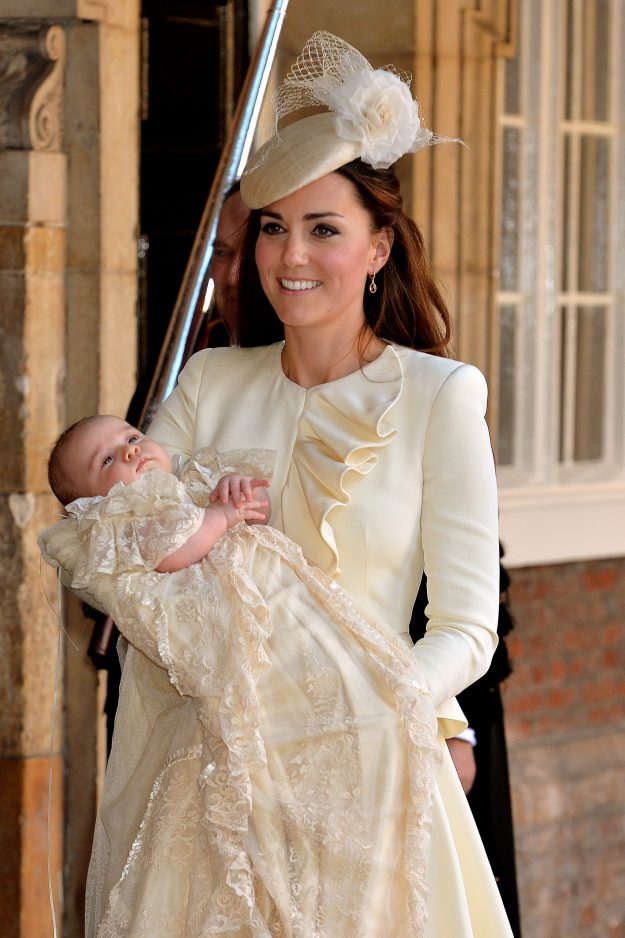 Kate Middleton opts for a very similar look at christenings [Getty]