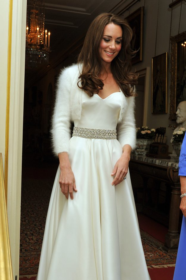 Kate Middleton's evening gown was from Alexander McQueen [Getty]