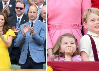 Kate and William are trying to encourage Prince George and Princess Charlotte to take up tennis Photo (C) GETTY