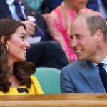 Kate and William gaze at one another lovingly during the Wimbledon Men's Singles Final Photo (C) GETTY