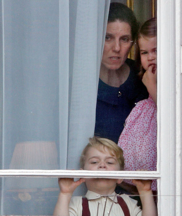 Prince Louis nanny Maria Barrallo is banned from smacking the royal children Photo C GETTY