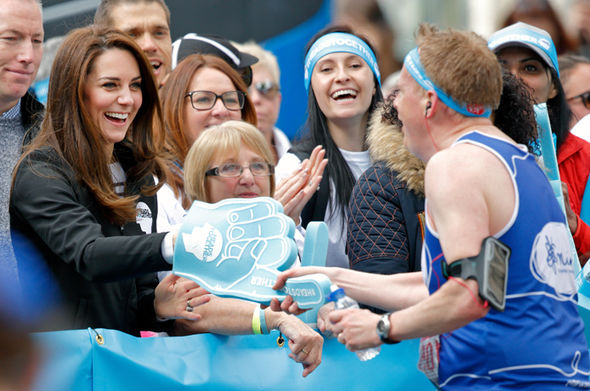 The reason Kate cant run marathons was revealed on Loose Women by her friend Bryony Gordan Photo C GETTY IMAGES
