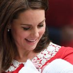 Kate dazzled royal fans as she stepped out with Prince Louis just 7 hours after giving birth (Image GETTY )