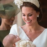 Kate looked stunning a Prince Louis' christening Photo (C) GETTY