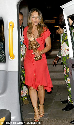 Liz Hurley and Princess Beatrice were both spotted at Annabels this week