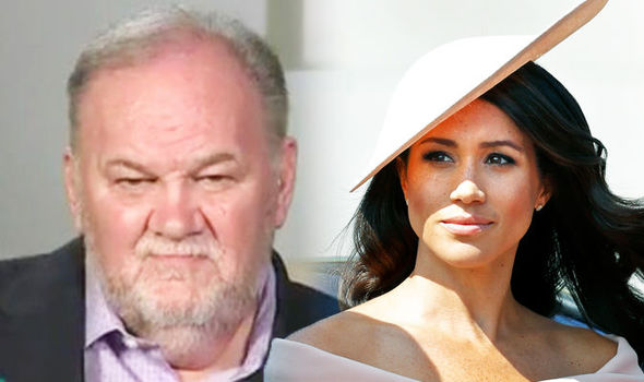 Meghan Markle Her half sister said the Palace should invite Thomas Markle to the Palace Photo (C) GETTY, ITV
