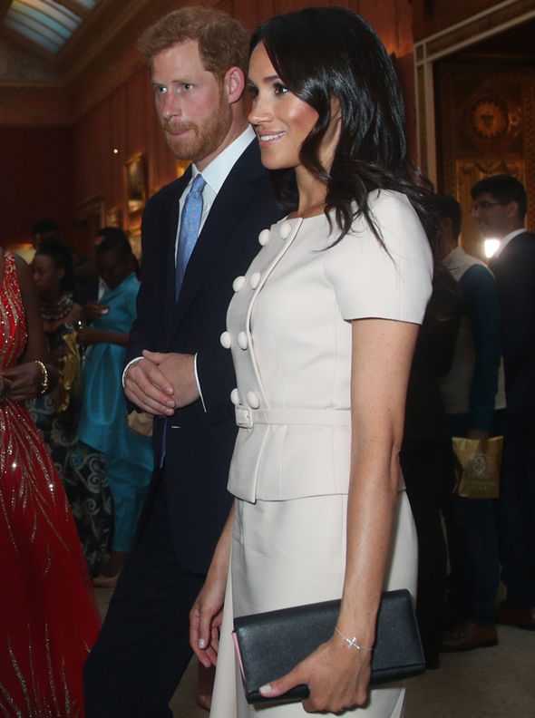 Meghan Markle Prince Harry's wife attempts Kate Middleton move only Duchess of Cambridge can Photo (C) GETTY