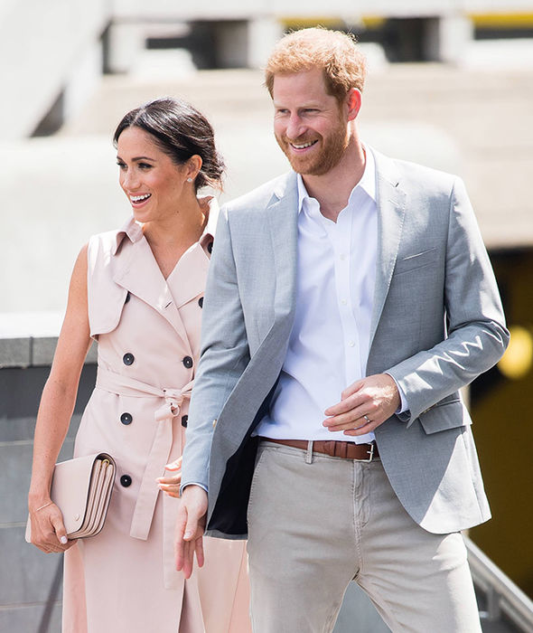 Meghan Markle and Harry have not been in contact with Thomas since his interview Photo (C) GETTY