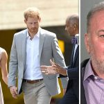 Meghan Markle and Prince Harry are reportedly 'frustrated' at Thomas Markle Photo (C) GETTY