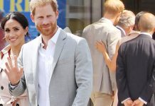 Meghan Markle and Prince Harry arrived at Southbank Centre Photo (C) SKY NEWS, GETTY