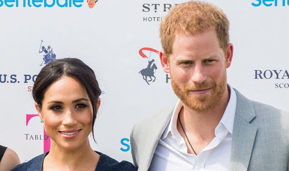 Meghan Markle and Prince Harry have revealed their royal monogram (Image GETTY )