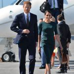 Meghan Markle dazzles in green